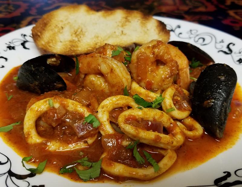 seafood-Marinara